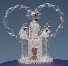 glass wedding cake toppers wedding cake toppers lovetoknow