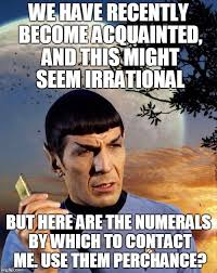 Call Me Maybe Meme - spock call me maybe imgflip