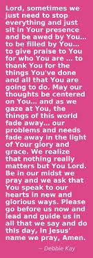 a exle for prayer do we praise him when we pray psalm