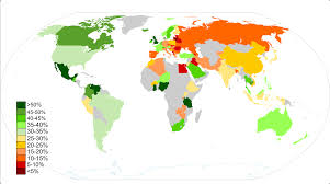 A World Map Fertility And Happiness A Global Perspective Jayman U0027s Blog