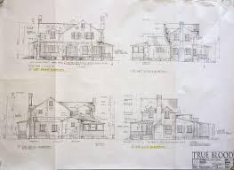 Blueprints Of A House Original Blueprints Of True Blood Properties The Vault