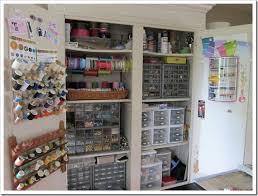 Craft Room Closet Organization - closet organization ideas for crafts azontreasures com