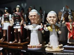 pope souvenirs pope souvenirs bobbleheads get em while they re hot cnn travel