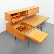 Home Office Desk With Storage by George Nelson