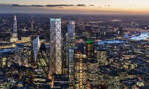 Dbox Rendering Tallest Tower In London U0027s Financial District Eric Parry Arch2o Com