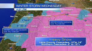 Portland Radar Map by Another Winter Storm In Place For Wednesday