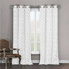 Two Curtains In One Window Curtains U0026 Drapes Window Treatments The Home Depot