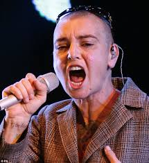 sinead o u0027connor gets face tattoos with the initials of a mystery