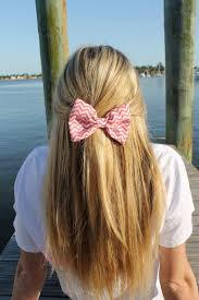 hair bow tie wildflowers merlot