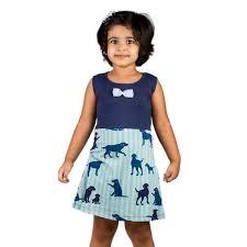 kids cotton dress girls cotton frocks hosiery frocks for girls