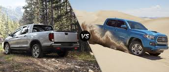 honda truck tailgate 2017 honda ridgeline vs 2017 toyota tacoma