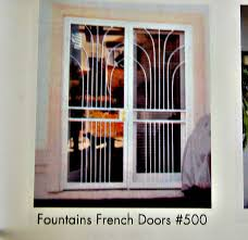 French Security Doors - gorgeous french door security bar on french door security bars
