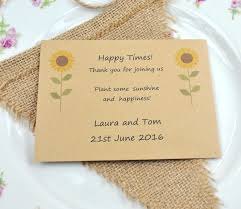 sunflower wedding favors emejing sunflower seed packets wedding favors gallery styles