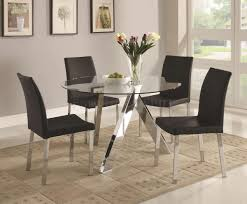 Glass Top Dining Tables With Wood Base Facelift Wood Base Glass Top Dining Table Zutux Furniture Home