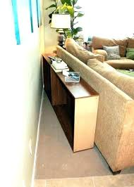 table behind sofa called long table behind couch sofa table tutorial awesome behind