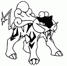 pokemon printables coloring pages suicune kids coloring