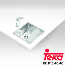 Teka Kitchen Sink Teka Stainless Steel Sink Be R15 40 40 Topware Solutions