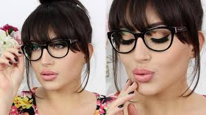 makeup for glasses wearers melissa samways youtube