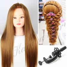 hairstyles to do on manikin blonde hair hairdressing manikin training head with wig heat