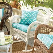 standard contour chair cushion in cabana turquoise pier 1 imports