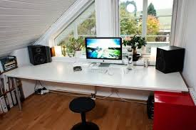 Office Desk Space Clean Your Office Desk Space For Apartment Therapy