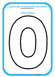 coloriage alphabet lettres géantes coloriage lettre o géante