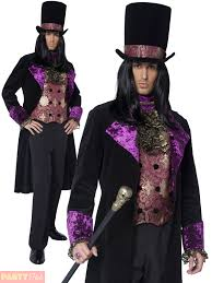 Halloween Costume Mens Gothic Count Countess Nocturna Halloween Costume Mens Ladies