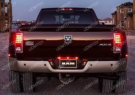 Led Light Bar Truck Trunk Tailgate Red Led Light Bar For Tail Brake Light Functions