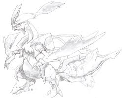 pokemon coloring pages white kyurem white kyurem by goldgriffin on deviantart