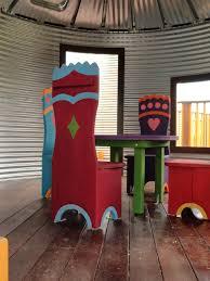 a scafco grain bin turned into a kids playhouse creative uses