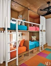 Hgtv Kids Rooms by Neutral Kids U0027 Room With Multiple Bunk Beds Hgtv My Dream House