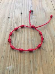 string knots bracelet images Red string bracelet knots bracelet kabbalah red string etsy jpg