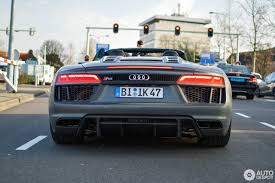 Audi R8 V10 Spyder - audi r8 v10 spyder 2016 12 march 2017 autogespot