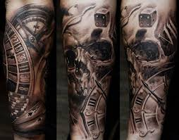 and skull sleeve meaning design idea for and