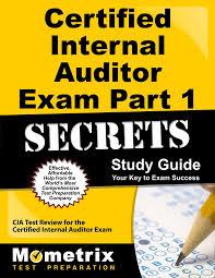 certified internal auditor exam part 1 secrets study guide cia