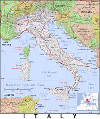 Map Of Southern Italy by It Italy Public Domain Maps By Pat The Free Open Source