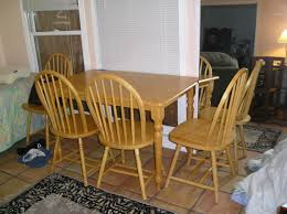oak kitchen table and chairs endorsed used kitchen table and chairs picture 7 of 19 dining room