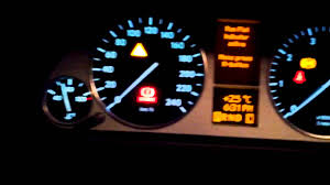 how to reset mb b200 2007 run flat indicator youtube