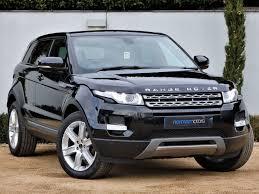 land rover range rover evoque used barolo black land rover range rover evoque for sale dorset