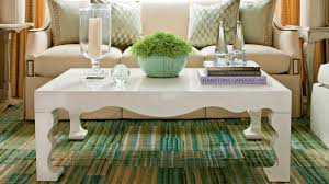 Glass Coffee Table Decor How To Decorate A Coffee Table Southern Living