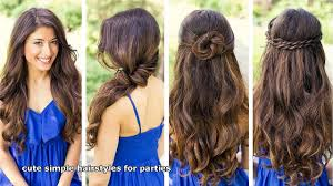 country hairstyles for long hair cute simple hairstyles for parties video dailymotion
