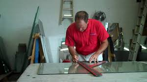 how to cut laminated glass youtube