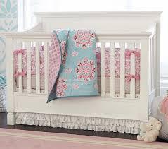 Pottery Barn Ruffle Crib Skirt Brooklyn Baby Bedding Set Pottery Barn Kids
