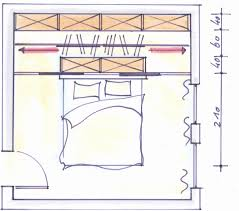 Schlafzimmer Begehbarer Kleiderschrank Schrankraum Hinter Dem Bett Plan Pinterest Schlafzimmer