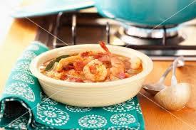 cajun küche gumbo eintopf mit garnelen cajun küche bild kaufen 11037086