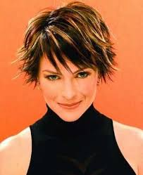 short chunky hairstyles edgy and swanky short hair with highlights short hair short