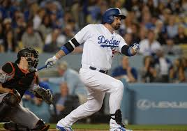 dodgers notes adrian gonzalez will have part time role upon his