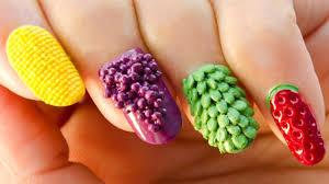 fruits nail art 3d nails 3d nails top 3d nail art designs