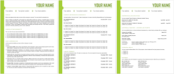 The Best Resume by Different Cv Formats Www Inspirenow Blue Side Resume Template