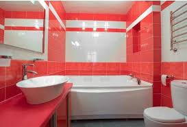 bathroom tile colour ideas small bathroom using large tiles combined with light this